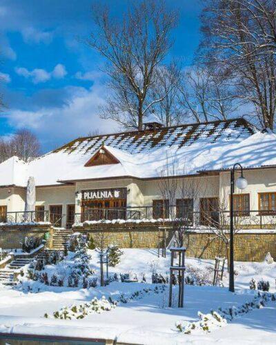 Pijalnia Arystyczna Zimą